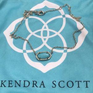 Kendra Scott Elisa turquoise and gold necklace
